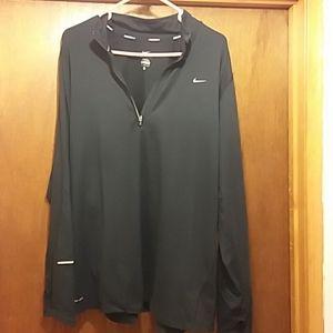 Nike Running Dri Fit Quarter Zip Shirt 2x